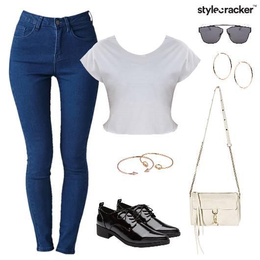 Basic Jeans Casual Summer Brunch  - StyleCracker