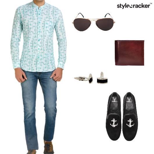 ChineseCollar Shirt Festive Summer  - StyleCracker