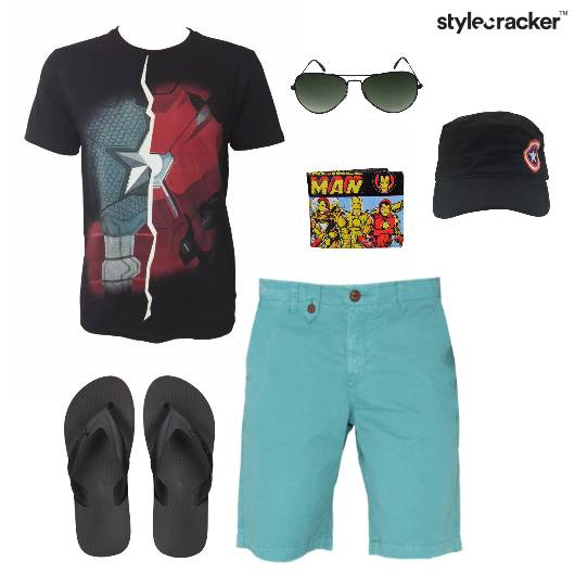 Tshirt Shorts Casual Basics Summer - StyleCracker