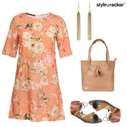 Floral Flats Summer Tote  - StyleCracker