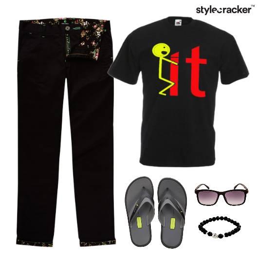 Casual TShirt FlipFlops Comfort - StyleCracker