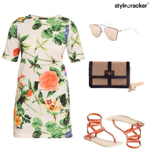 Floral Flats Summer Casual  - StyleCracker