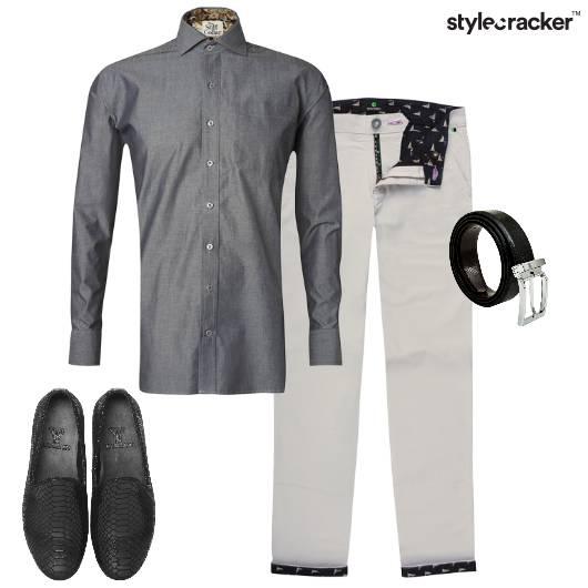 Grey Formal Summer Work  - StyleCracker