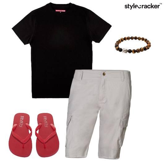 Casual FlipFlops Shorts Chill - StyleCracker