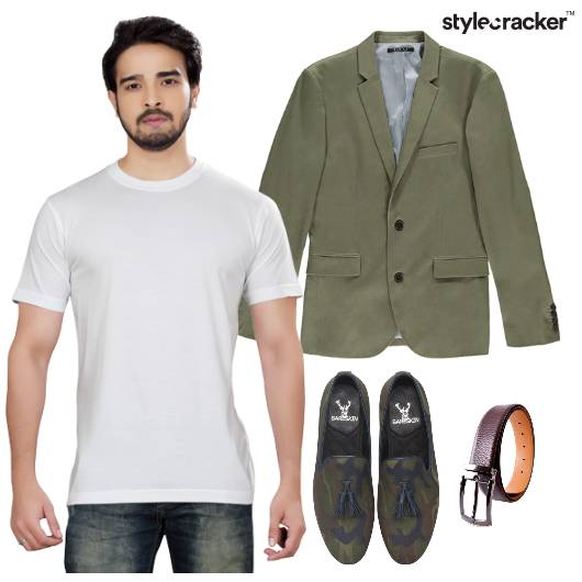 TShirt Blazer Lunch Casuals - StyleCracker