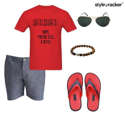 Tshirt Shorts Casual Summer Basics  - StyleCracker