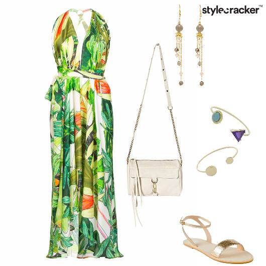 Print Maxi MaxiDress Vacation Weekend - StyleCracker