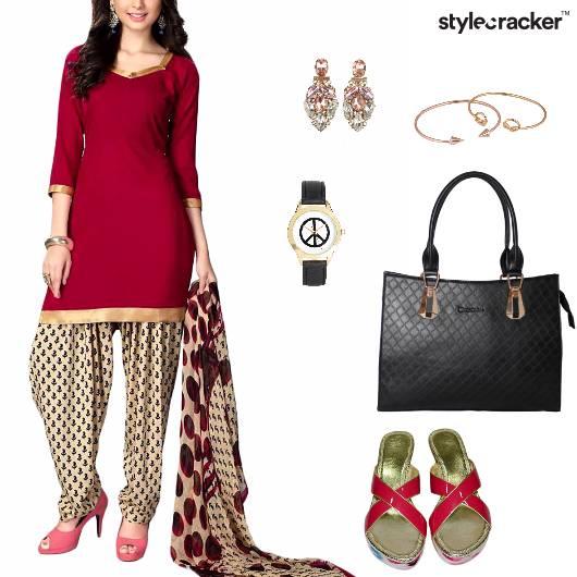 Salwaar Indian Ethnic Work Casual - StyleCracker