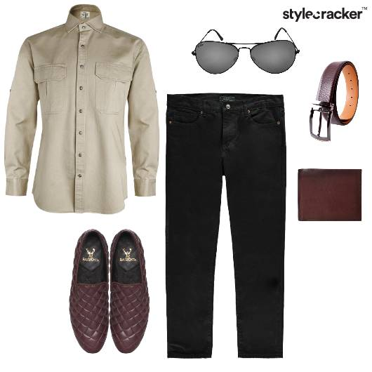 Shirt Jeans Formal Casual Summer - StyleCracker