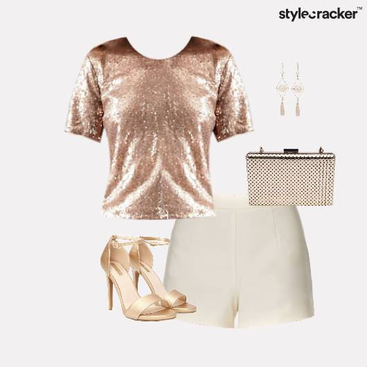 HiShine Shorts Stilettos Dinner   - StyleCracker