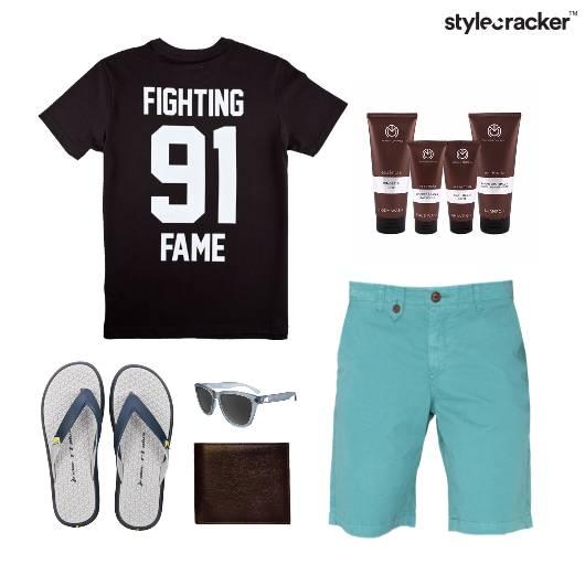 Casual TShirt Comfort FlipFlops Vacation - StyleCracker