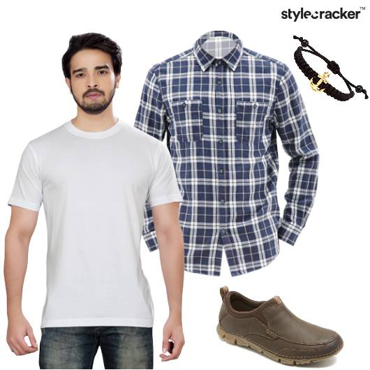 Tshirt Shirt Layer Casual Basics - StyleCracker