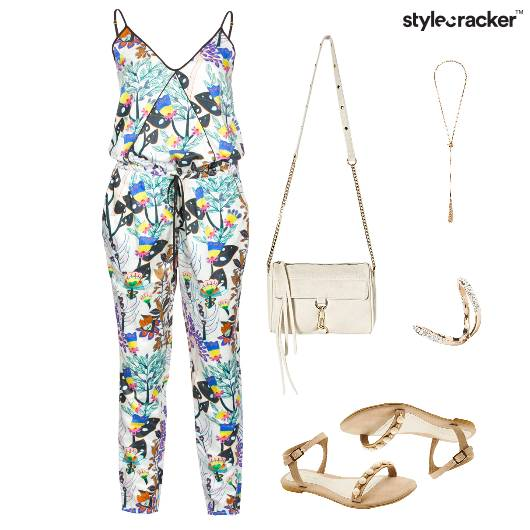 Prints Summer Jumpsuit Casual  - StyleCracker