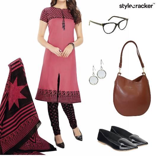ChudiDaar Suit Indian Ethnic Work - StyleCracker