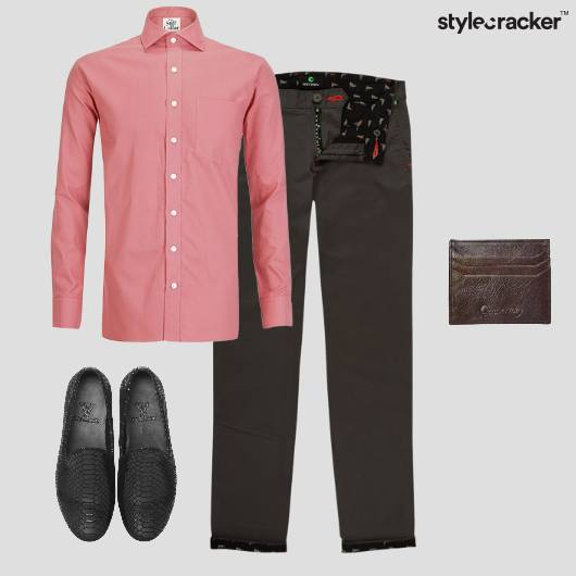 Shirt Chinos Formal Weekdays  - StyleCracker