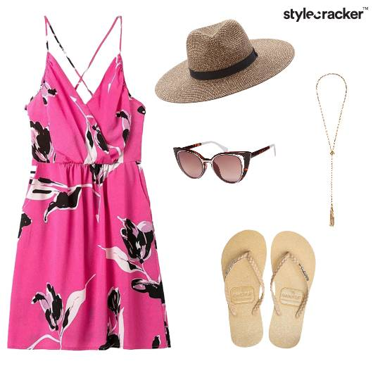 Dresses Floral Summer Holiday  - StyleCracker