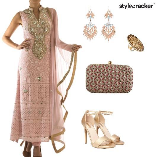 Suit Indian Ethnic Festive - StyleCracker