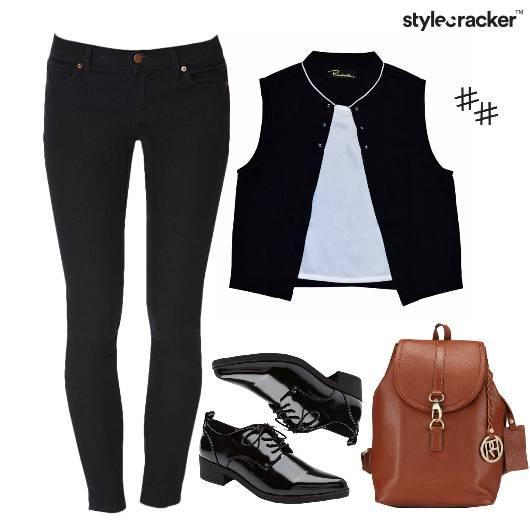 Layer Top BackPack Denim  - StyleCracker