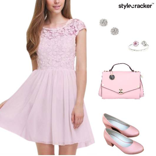 Lace Skater Dress Lunch Summer - StyleCracker