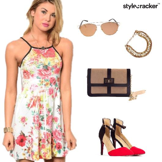 Floral Prints Dresses Summer  - StyleCracker
