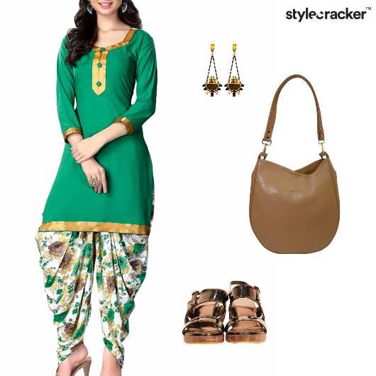 Festive Indian Ethnic Dhoti Kurta - StyleCracker