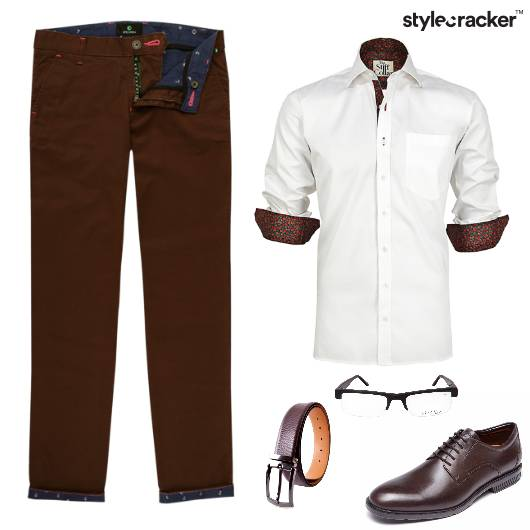 Shirt Chinos Work Meetings - StyleCracker