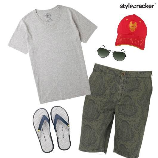 Casual TShirt FlipFlops Flats Summer - StyleCracker