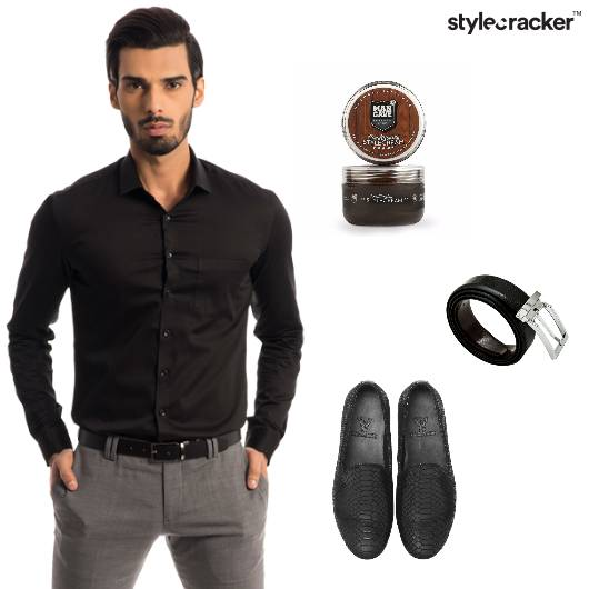 Shirt Chinos Loafers Belt Formal - StyleCracker