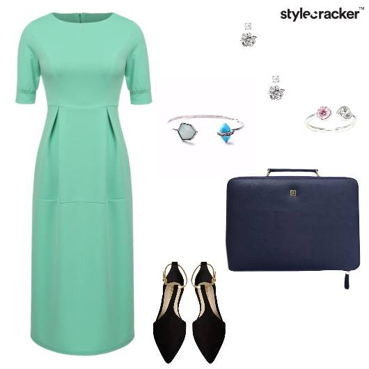 Structured Dress Work Formal  - StyleCracker