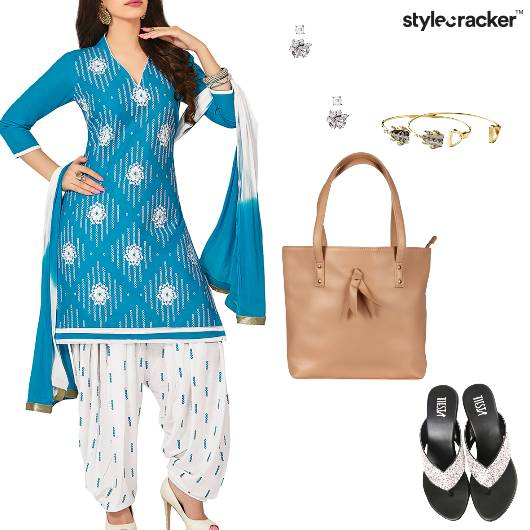 Salwaar Suit Indian Ethnic Casual - StyleCracker