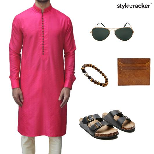 ChineseCollar Kurta Indian Ethnic Wedding Summer - StyleCracker