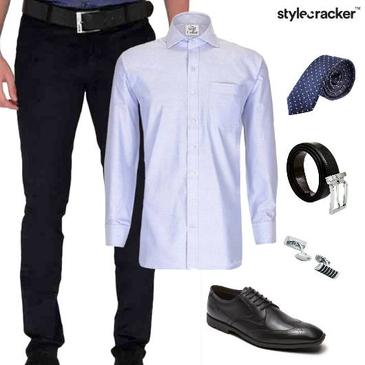 Formal Shirt Tie Night Wedding - StyleCracker