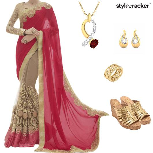 Saree Indian Ethnic Wedding - StyleCracker