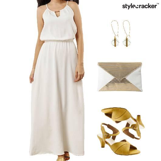 Maxi Dress Clutch Pool Party - StyleCracker