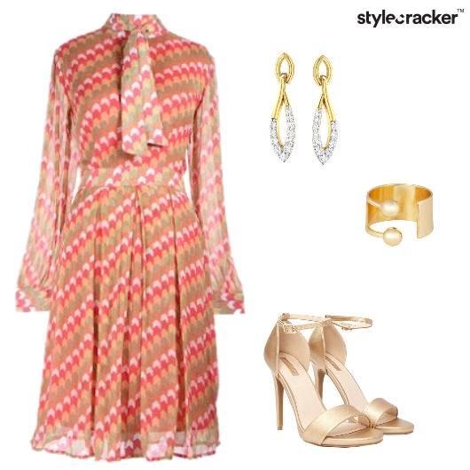 Print Dress Summer  - StyleCracker