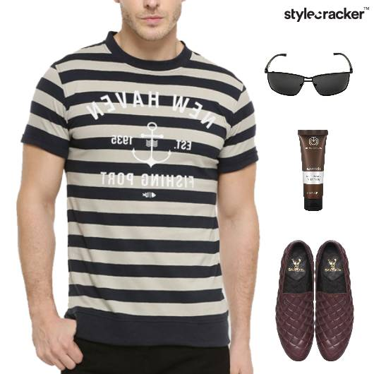 Casual TShirt SlipOns Lunch - StyleCracker