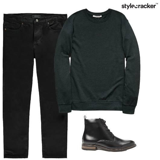 SweatShirt Jeans Boots Casual  - StyleCracker