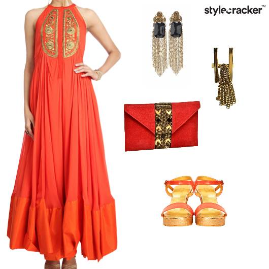 Anarkali Indian Ethnic Wedding - StyleCracker