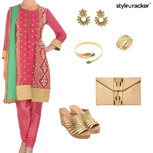 Chudidaar Suit Indian Ethnic Wedding - StyleCracker