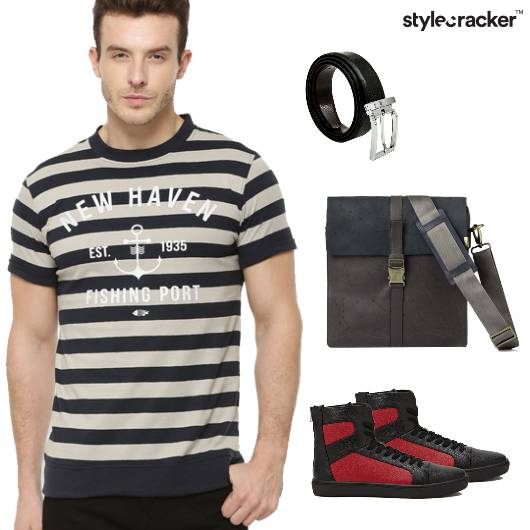 Stripe Tshirt Casual Summer - StyleCracker