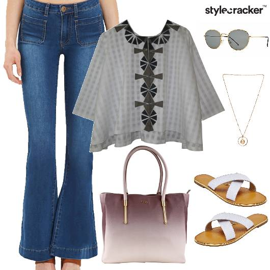 Flared Pants Top Summer Casual - StyleCracker