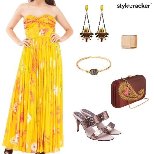 Tube Maxi TIeAndDie Summer Dress - StyleCracker