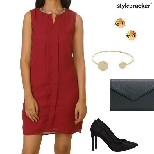 Dress Pumps Clutch Envelope Cuff Brunch - StyleCracker
