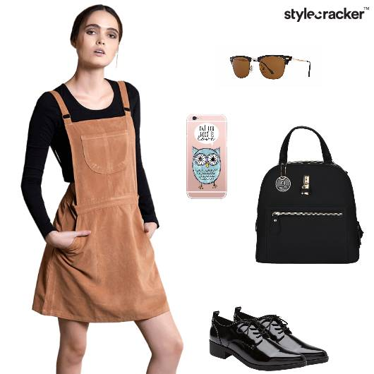 Pinafore Croptop Backpack Oxfords Wayfarers Backtoschool - StyleCracker