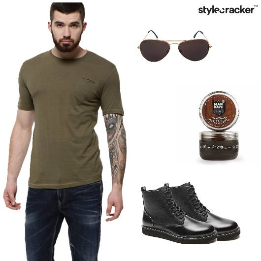 Tshirt  Jeans Shoes Casual  - StyleCracker