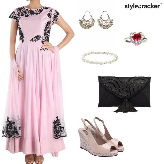 Anarkali Indian Ethnic Festive Wedding - StyleCracker