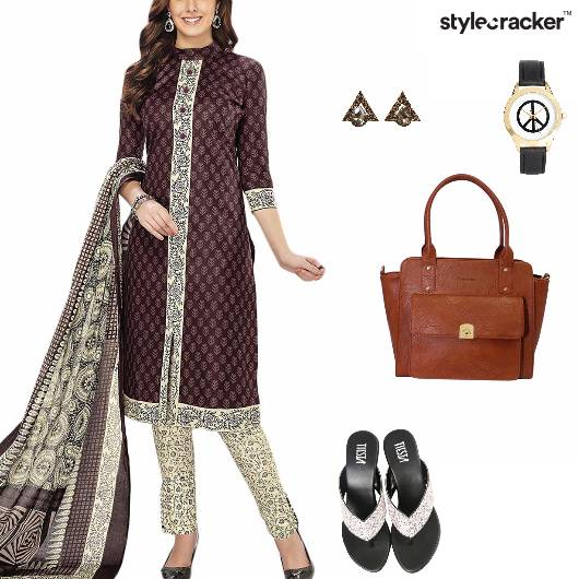 Suit Indian Ethnic Casual Work - StyleCracker