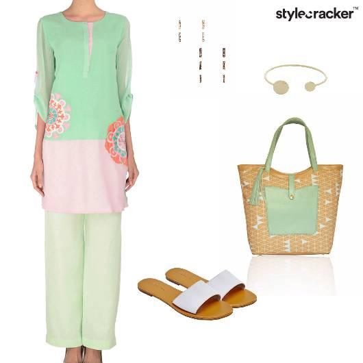 Pants Kurta Summer Pastel - StyleCracker