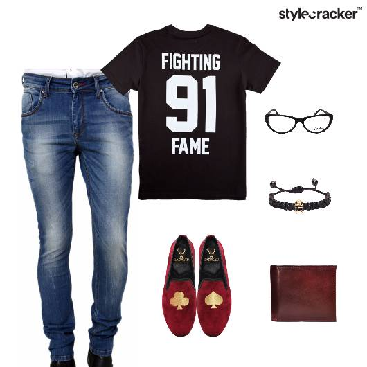 Casual Lunch TShirt Denim Comfort - StyleCracker