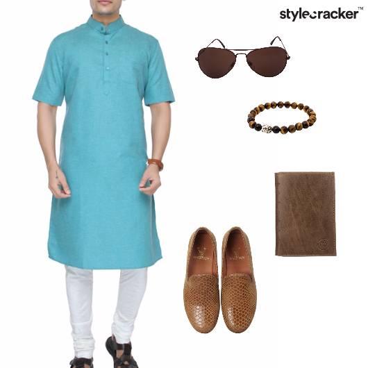 Kurta Indian Ethnic Summer Festive - StyleCracker